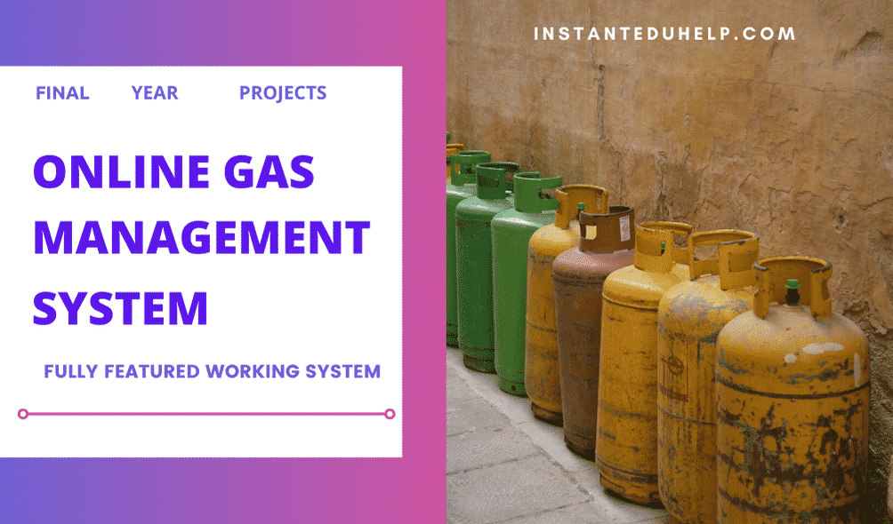 Gas Booking Management System Project for Final year