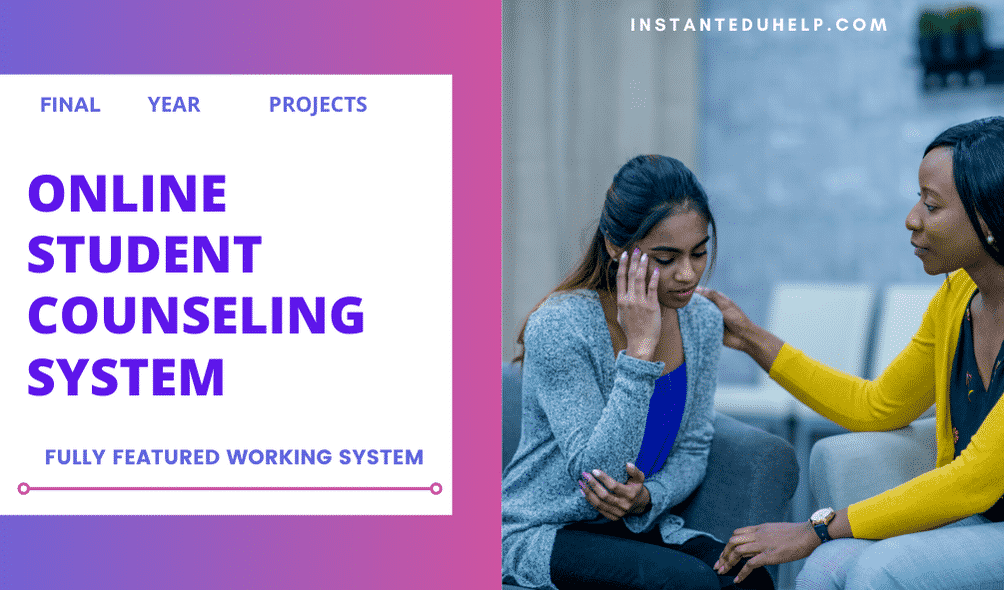 Online counselling management system project